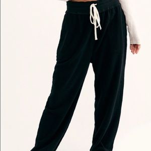 Free People Black Jogger Medium